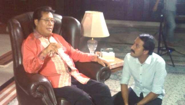 Sesi temu ramah Bront bersama Tan Sri Khalid Ibrahim