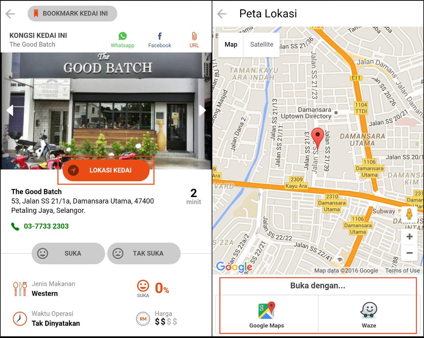 Image result for lokasi kedai
