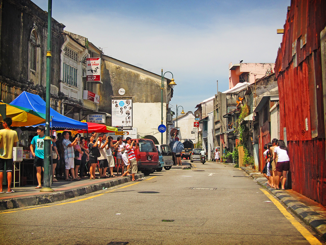George Town is recognised as one of Unesco's World Heritage Sites.