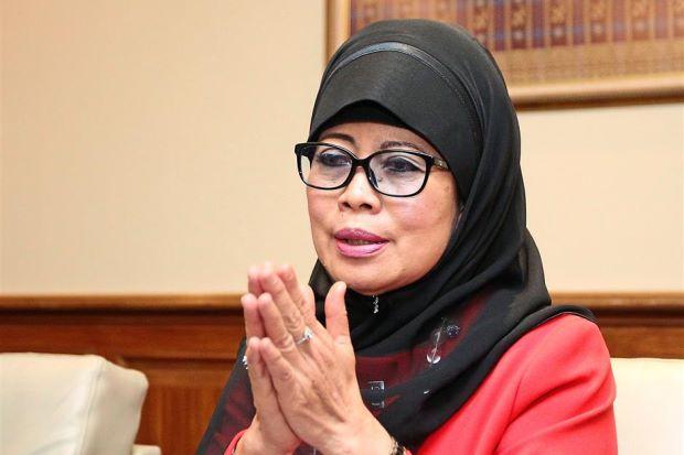 Welfare, Women and Family Development Minister Datuk Fatimah Abdullah