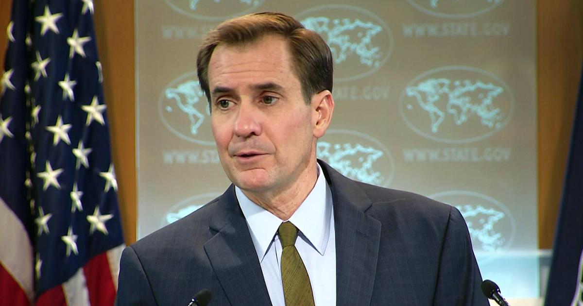 U.S. State Department spokesman John Kirby.