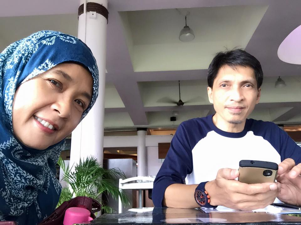 Ibu bapa Hadhinah.