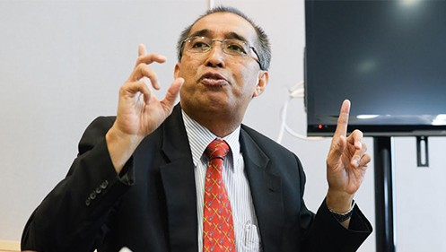 Communications and Multimedia Minister Salleh Said Keruak