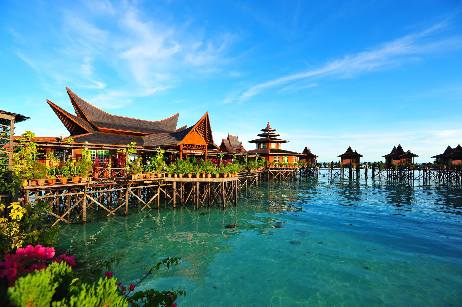 Mabul Water Bungalows, Mabul Island, Sabah