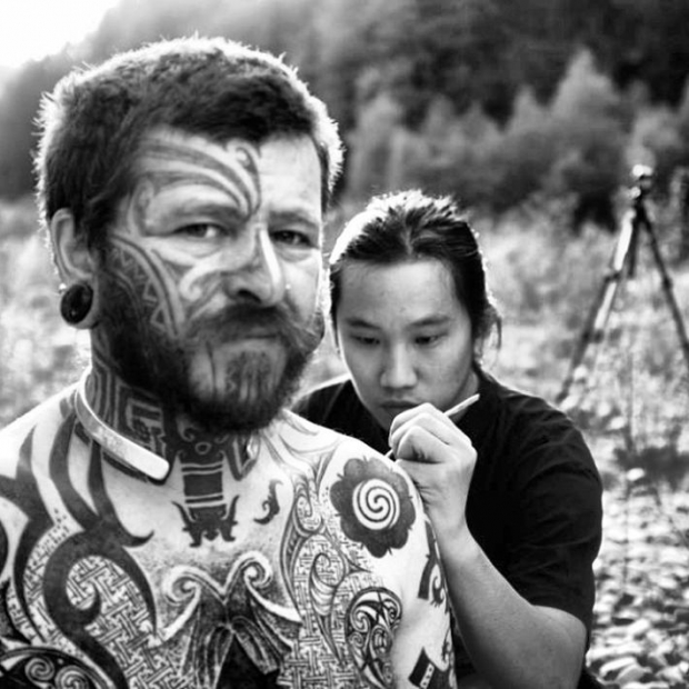 'Sabah-born Carlos Benny Majakil is bringing his passion for tattoos back to his hometown for the Borneo state's first tattoo convention'