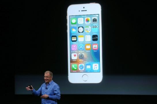Apple vice president Greg Joswiak discussing about the iPhone SE.
