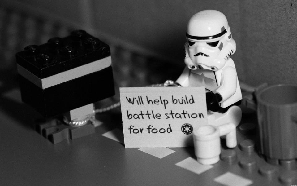 Image from The Adventures of George the Storm Trooper