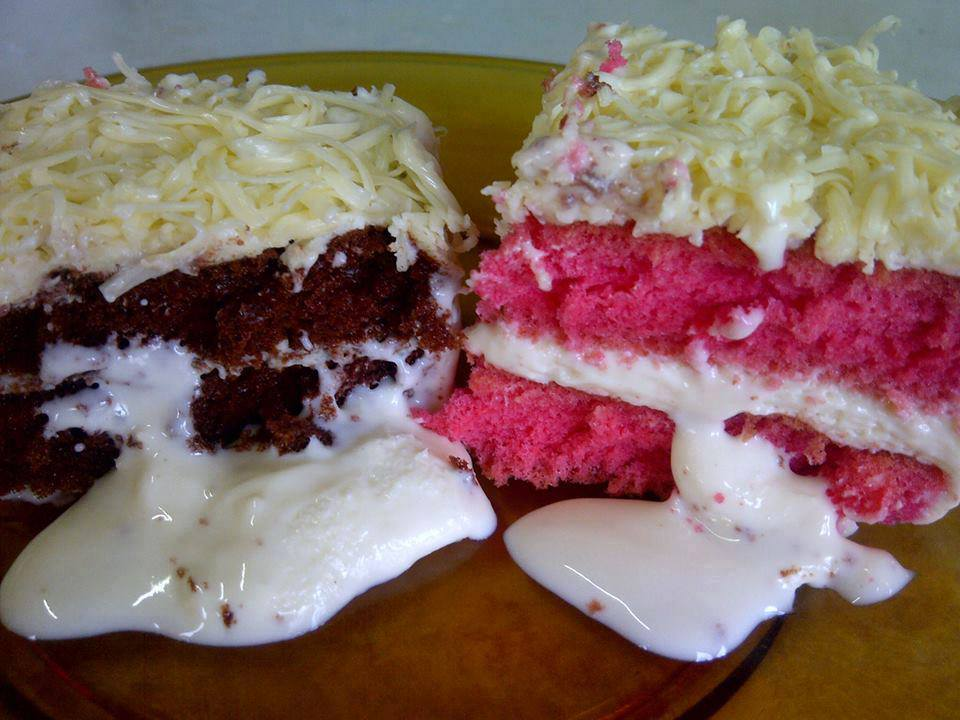 Image from Meleleh - Ice Cream Cake With Cheese On Top Facebook
