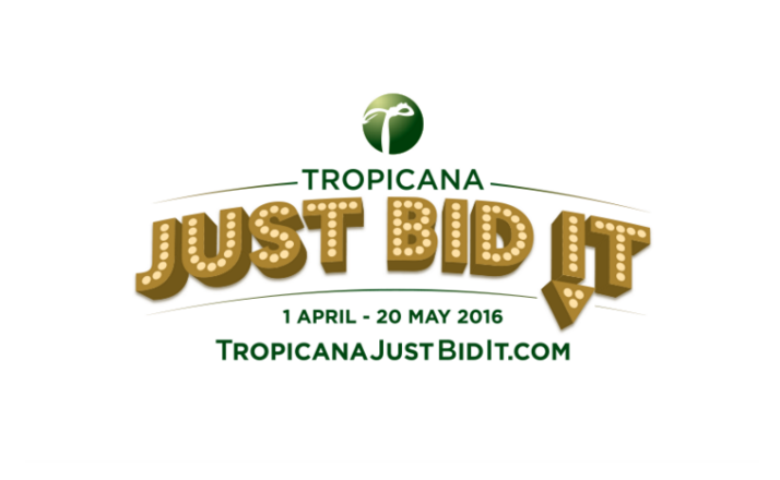 Image from Tropicana Just Bid It