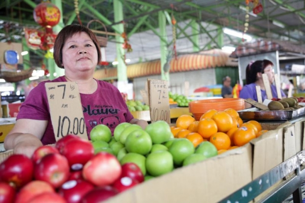 Fruit seller Wong Kwai Cheng.
