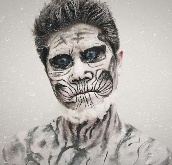White Walker from Game of Thrones. Who's stoked for the premiere of Season 6?!