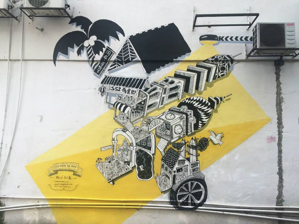 PHOTOS] These Street Murals In Kluang Are Looking Pretty Amazing!