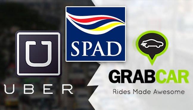 Image result for SPAD GRAB UBER