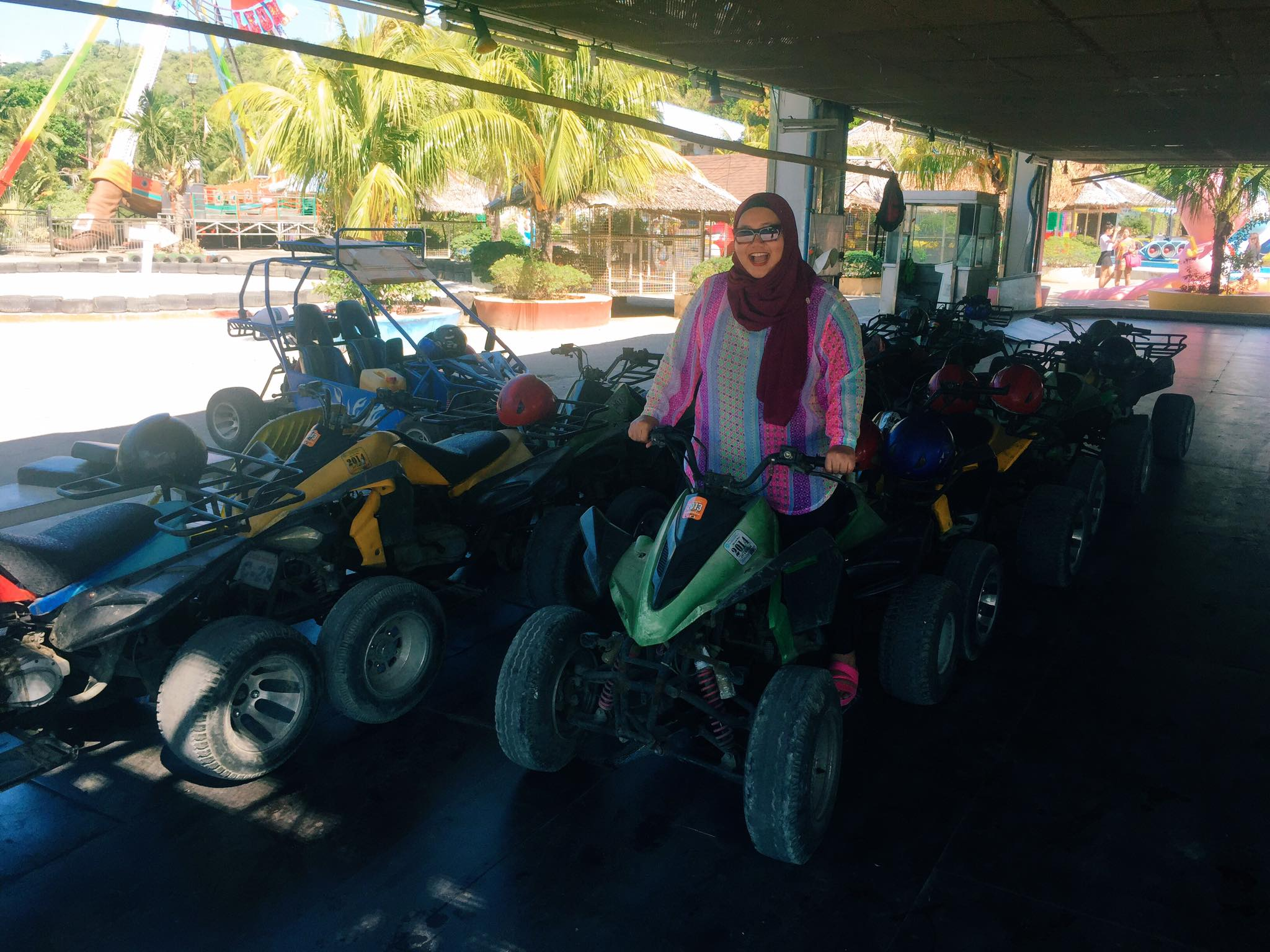 ATV/Buggy to Mt. Luho.