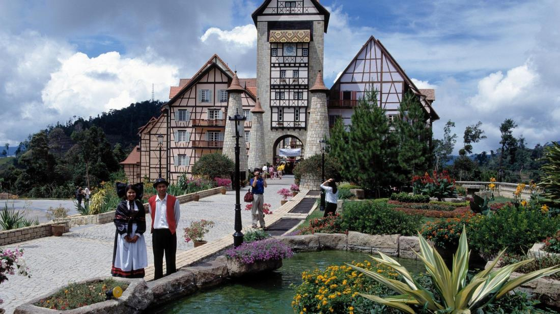 Colmar Tropicale, a French-themed village in Bukit Tinggi.