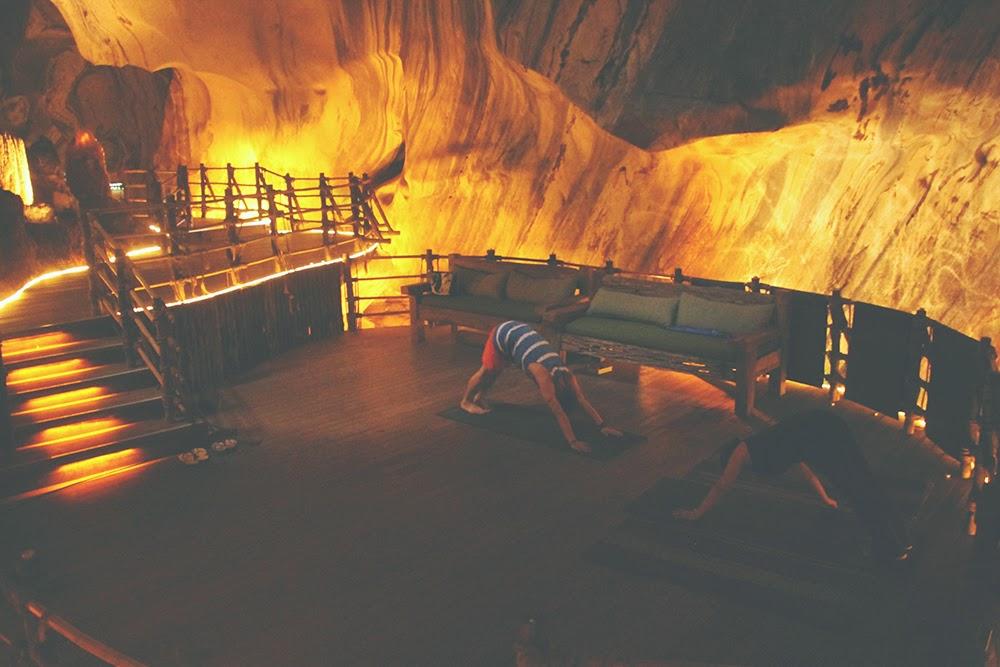 Meditation Cave.
