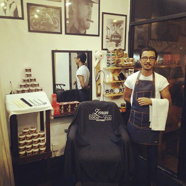 Image from Instagram @zenon.barbershop