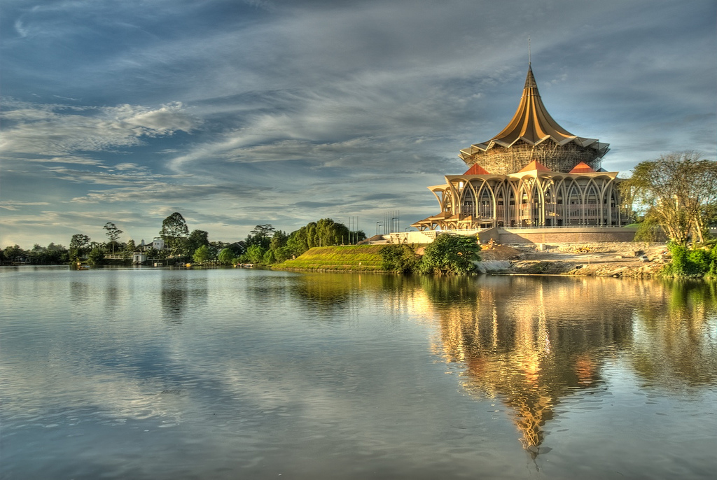 The State Assembly building, Kuching