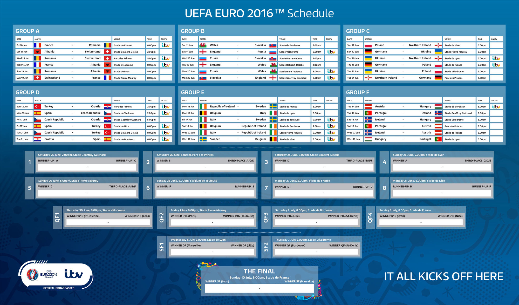 This Is The Only Sleeping Schedule Every Malaysian Football Fan Needs For Euro 2016