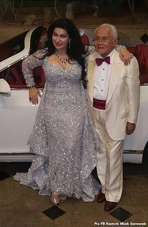Taib Mahmud S Wife Gives Him An Rm1 5 Million Bentley For