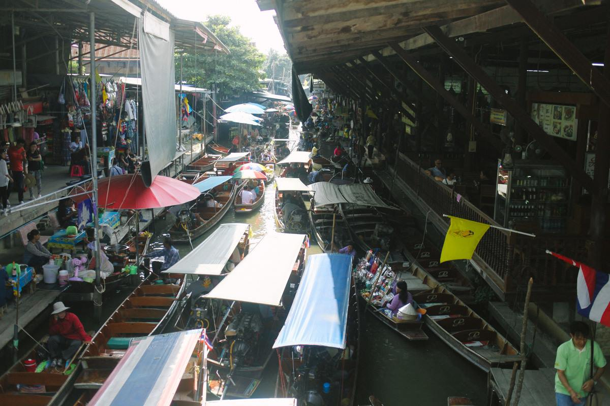 Floating Market, Damnoen Sanduak.