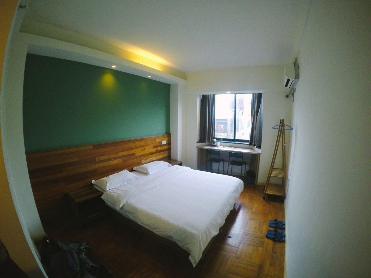 Our room at Nanning, China.