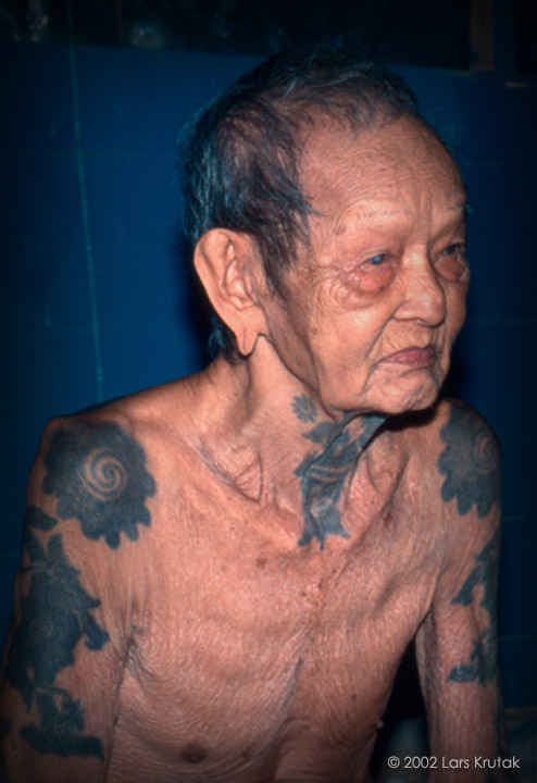 The late Maung was an Iban warrior and tattoo artist