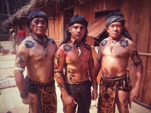 sarawak s tribal tattoos have an ancient history not many know of today. Black Bedroom Furniture Sets. Home Design Ideas