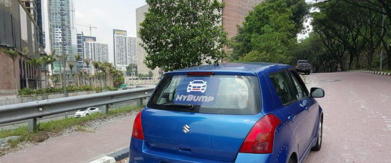 An example of the sticker