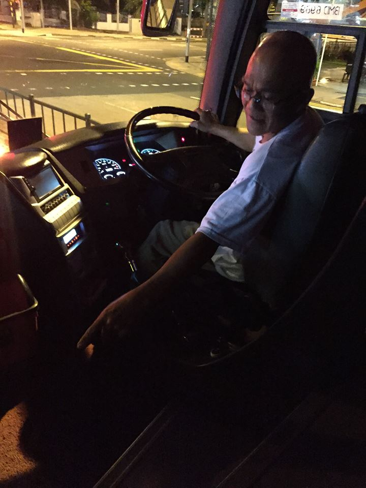 The bus driver that allegedly tried to inappropriately touch and harass Mónica