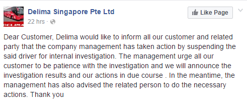 Image from Facebook/Delima Singapore Pte Ltd