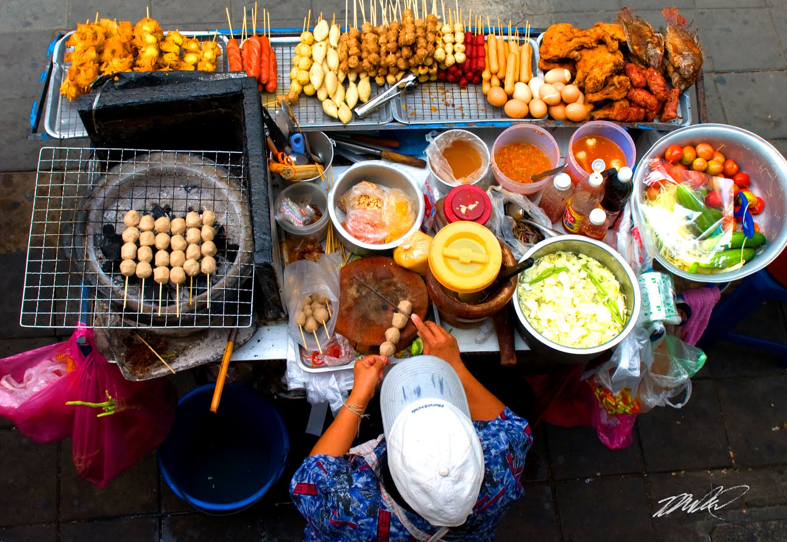 Mauritius street food is said to be amongst the best in the world.
