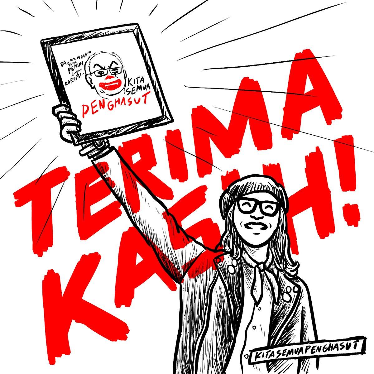 Image from Twitter/Fahmi Reza @kuasasiswa