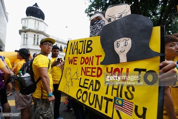 Bersih 4.0 went on for two days from 29 to 30 August 2015