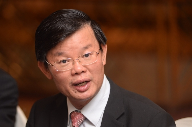 Penang DAP chairman Chow Kon Yeow