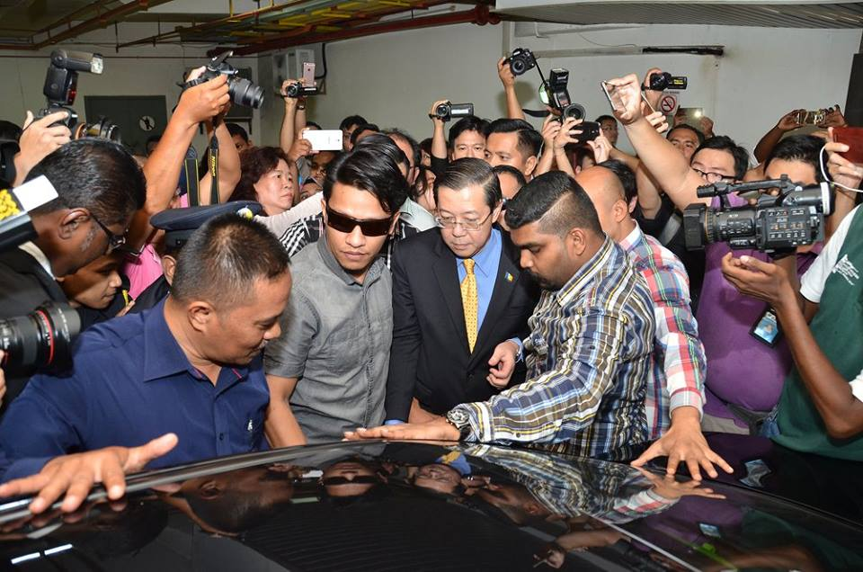 Image from CM Lim Guan Eng