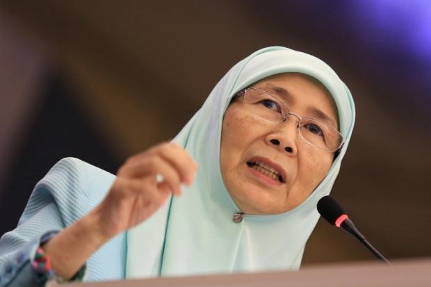 Federal Opposition Leader Datuk Seri Dr Wan Azizah Wan Ismail