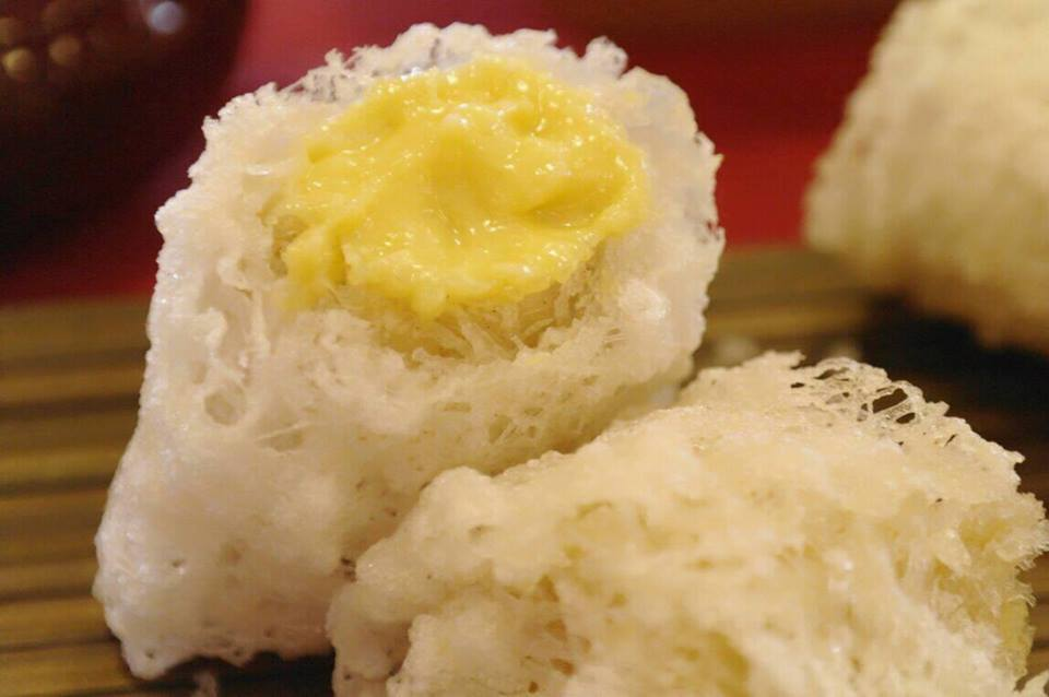 Ice Fire Durian Roll.