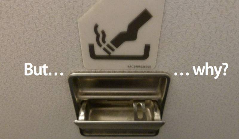 The Reason Why The Bathrooms In Modern Airplane Still Have
