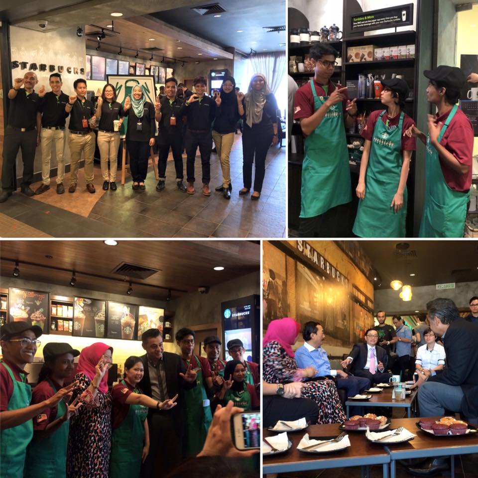 Starbucks malaysia will be opening a new store at design village mall - Image Via Starbucks Malaysia