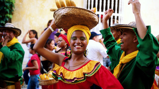 Columbians have a national love for celebration which can be seen through their various festivals and carnivals such as the Black and White Festival, Manizales Festival and the Barranquilla Carnival.