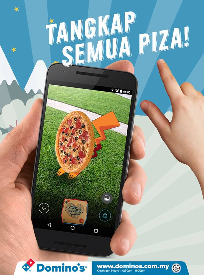 Image from Domino's Pizza Malaysia