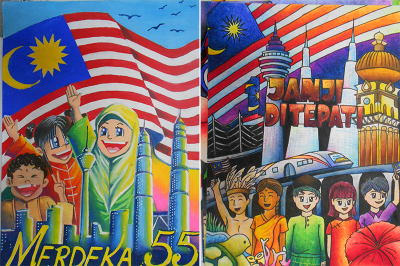21 super fun things malaysian students used to do for for Mural 1 malaysia