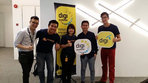 GrabGas was selected for the Digi Accelerate Program in April.