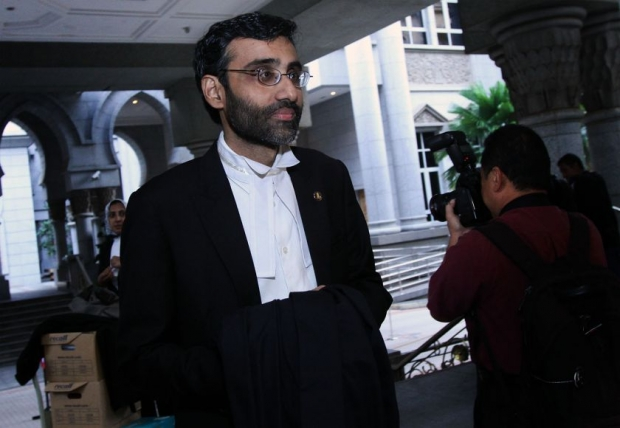 A file photo of lawyer N. Surendran.