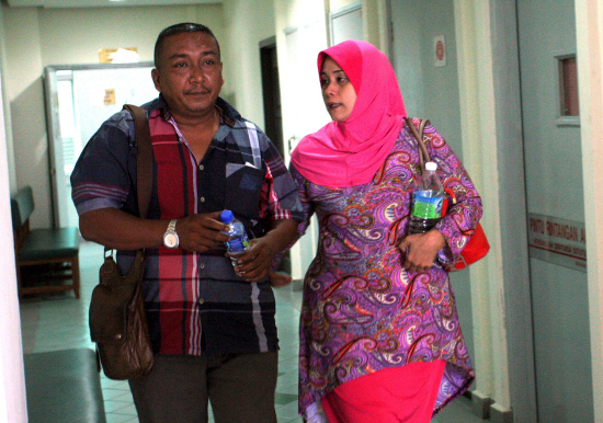 15-year-old Shamil's mother, Norhafizah Mohd Razali, actually had no confidence that she would ever get justice.
