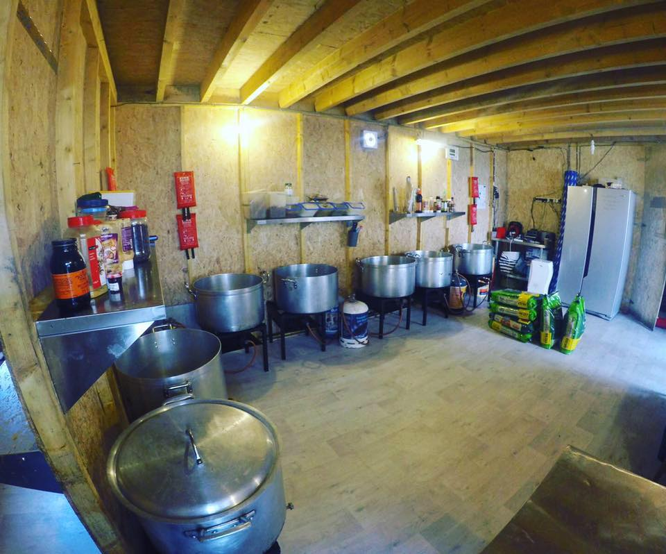 Image from Kitchen in Calais via Facebook