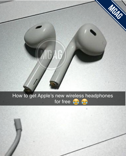 The Internet Just Can't Stop Making Fun Of Apple's New AirPods