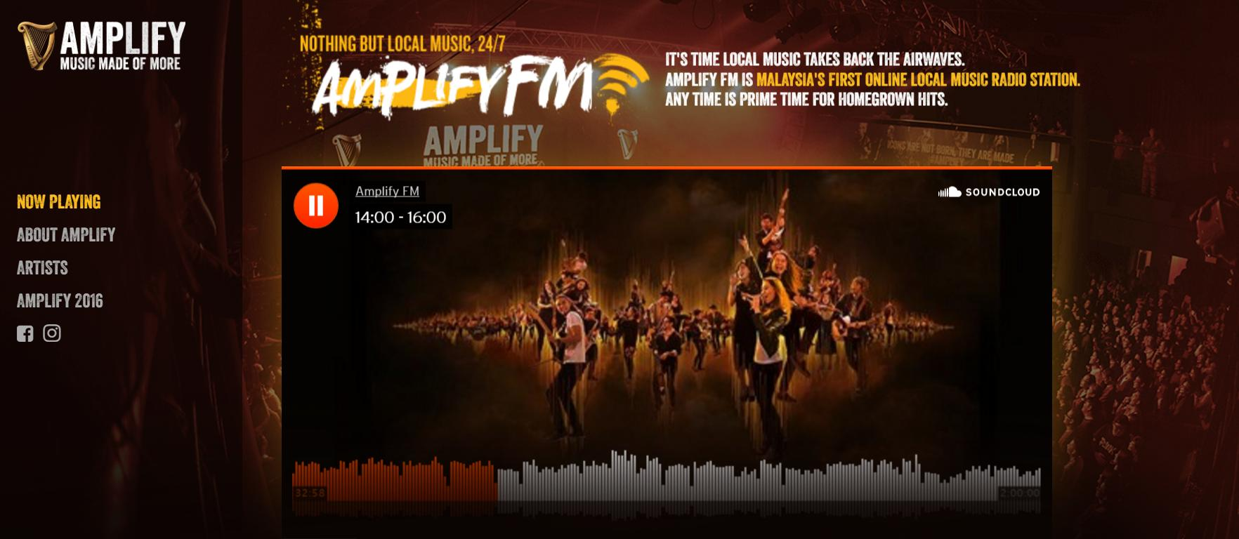 Image from Amplify FM