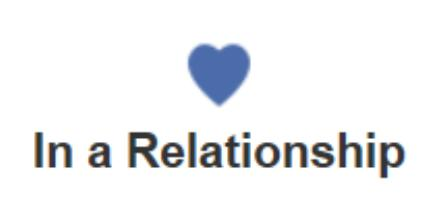 is now in a relationship with facebook